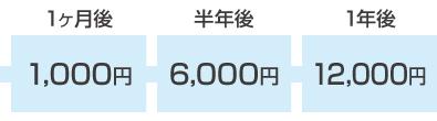 他社の場合12000円
